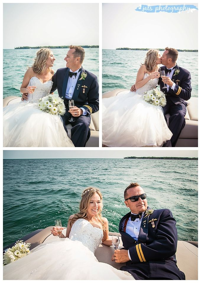 Boat Ride after wedding