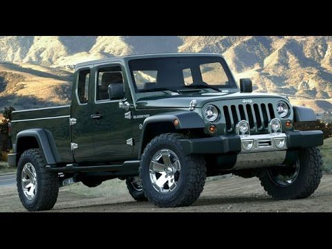 Lifted Jeep Wrangler >> What will the 2018 Jeep Wrangler Pickup Truck look like? | Jeep wrangler truck, Jeep pickup ...