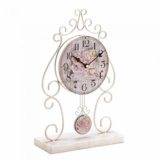 $39.95 - The tick-tock of this clock will fill your minutes and days with nothing but charm.