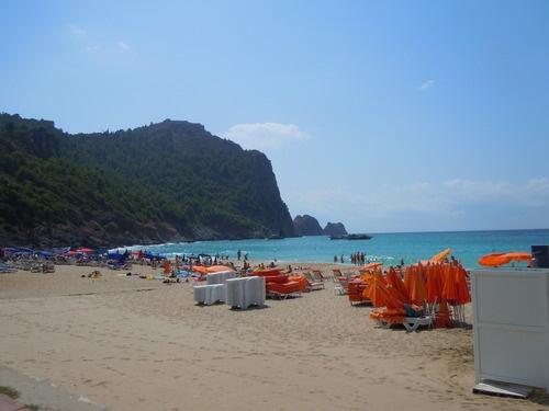 Cleopatra Beach; Alanya, Turkey The Turquoise Coast: