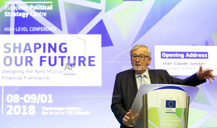 BRUSSELS/January 08, 2018(AP)(STL.News)— Top European Union officials are urging member countries to stump up more money to fund the EU's ambitions and fill a yawning budget gap after Britain leaves the bloc. European Commission President Jean-Claude Juncker said Monday that the EU and its ... Read More Details: https://www.stl.news/eu-countries-urged-to-dig-deep-for-blocs-long-term-budget/63584/