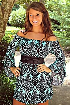 Walkaway Joe Tunic Dress in Black $36.99! #SouthernFriedChics