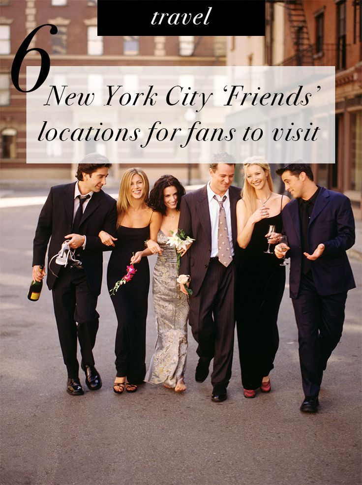 6 New York City Friends Locations for Fans to Visit