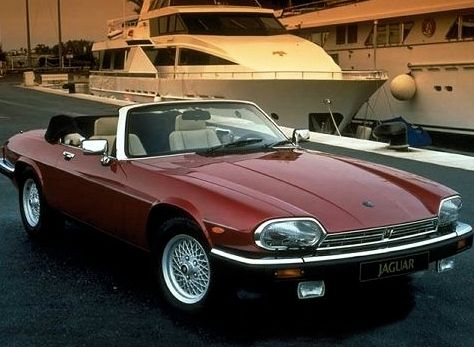 Jaguar XJS.  They don't make them with this much panache anymore.