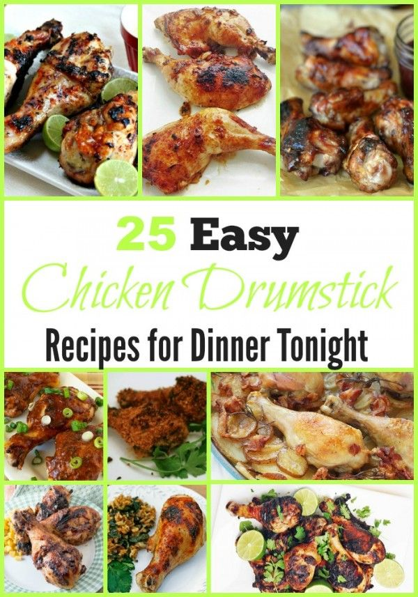 Quick and easy chicken leg recipes