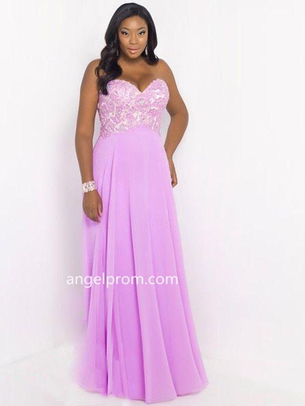 Mejores 56 imágenes de Plus Size Prom Dress en Pinterest | Vestidos ...