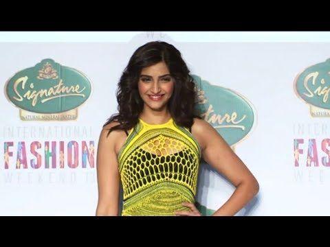 Sonam Kapoor's stunning ramp walk at International Fashion Weekend 2013.