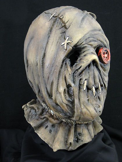 Harold Halloween Horror Haunt Latex Mask Prop, NEW