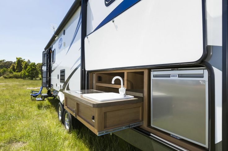 Motor home with outdoor kitchen outdoor kitchen gmc