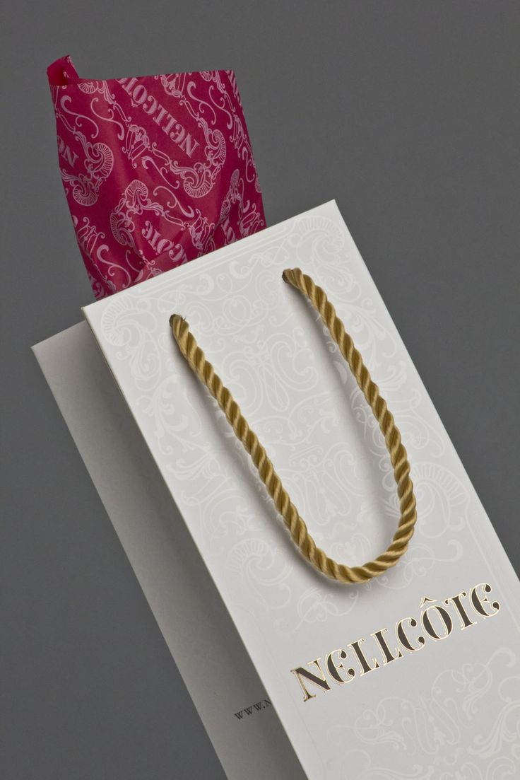 Nellcote Wine Group | Wine Bag | by designthis!