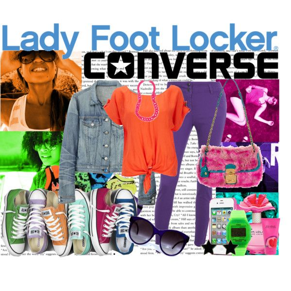 """""""Lady Converse"""" by ishatorres on Polyvore"""