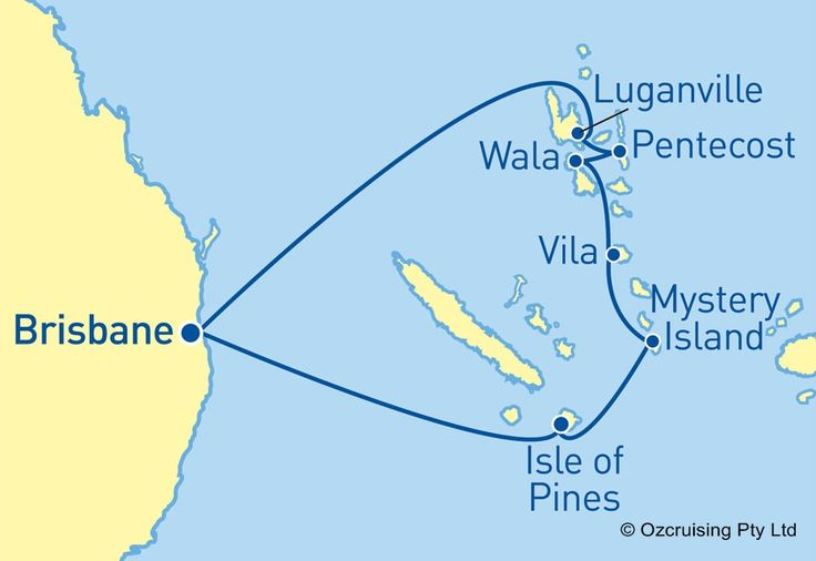 Pacific Dawn South Pacific Cruise - Ozcruising