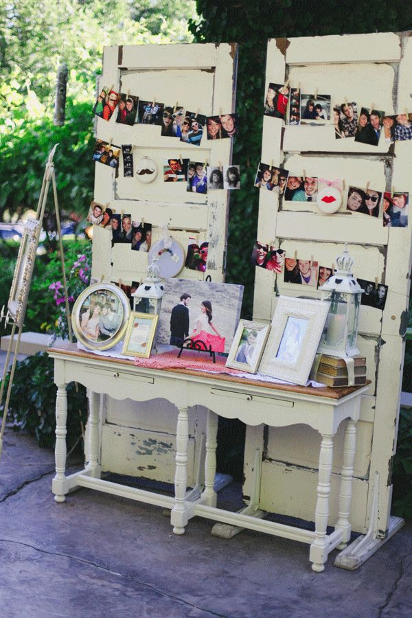 bride and groom photos and framed music lyrics