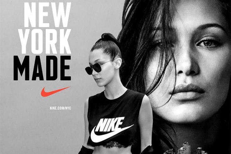 Bella Hadid nową ambasadorką Nike!