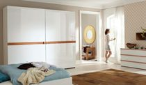 Contemporary high gloss lacquered wardrobe