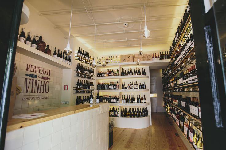 Our wine store in Bairro Alto, Lisbon