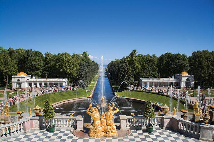 The Peterhof, St. Petersburg.