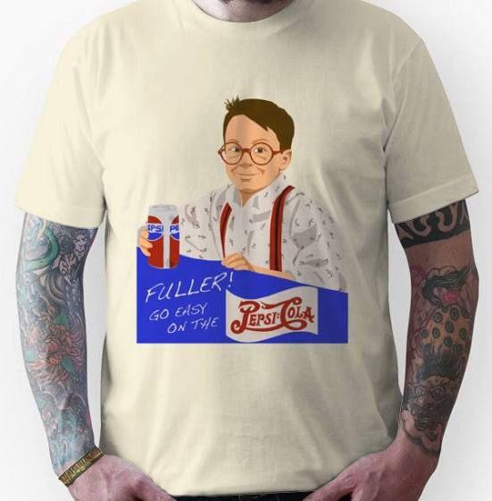 Fuller Home Alone pepsi t-shirt