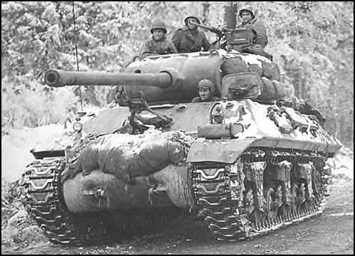 M36 90mm Tank Destroyer, 703rd TD Battalion, 3rd Armored Division, near…