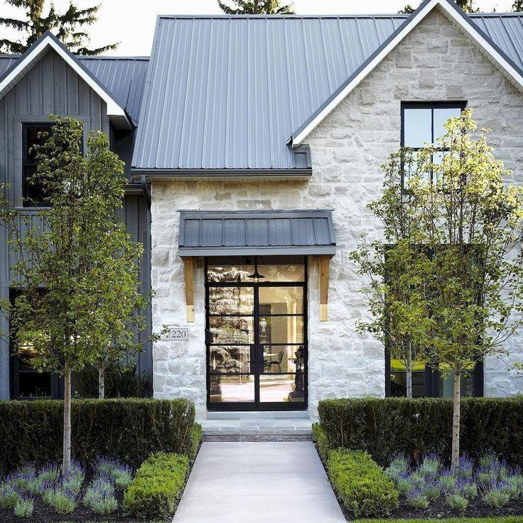 41 Incredible Farmhouse Decor Ideas: Best 25+ Stone Exterior Houses Ideas On Pinterest