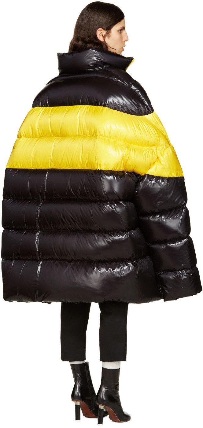 Raf Simons - Black Down Oversized Coat                              …                                                                                                                                                                                 More