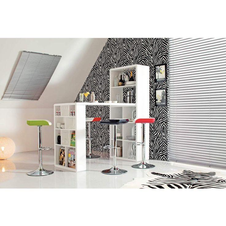 Phoenix 648801WE Lounge-Bar, Hochglanz, abgerundete Kanten: Amazon.de: Küche & Haushalt