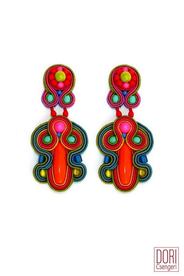 Meet your new style obsession: Tel Aviv bold colors earrings.... #doricsengeri #summerobsession #styleobsession #boldcolors #statementearrings #earrings #designerjewelry
