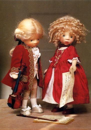 Pongratz-Puppen Mozart