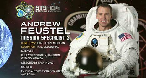 Astronaut Andrew Feustel v Praze (2)