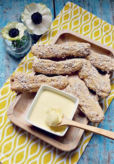 Very Easy...Kitchen: Beurre de mangue et boudoirs au sarrasin (sans glu...