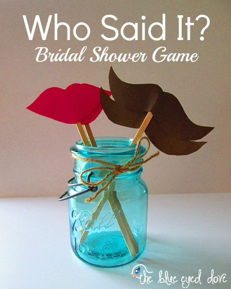 Bridal Shower Game Idea - Guaranteed to get to know the Bride & Groom a little better after this game, all while sharing lots of laughs! theblueeyeddove.com
