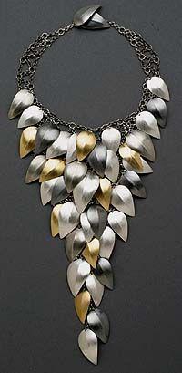 "Lynn Christiansen  | ""Falling Leaves"" Necklace"