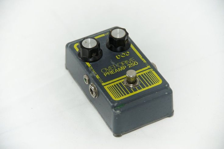 DOD 250 overdrive preamp (grey)