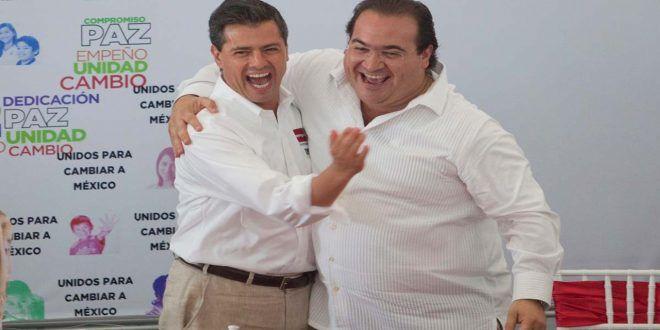 """duartepena En vídeo: Javier Duarte se despide y le agradece a Peña Nieto por su """"respaldo"""" (POLÉMICA)"""