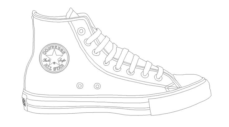 converse all star template by katus
