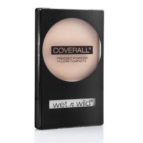 Wet Ν Wild Coverall Pressed Powder No 821 Πούδρα προσώπου με αέρινη, μεταξένια υφή η οποία κάνει το πρόσωπο σας να ακτινοβολεί. Διαρκεί πολύ, χωρίς να βαραίνει την επιδερμίδα ενώ η τεχνολογία VisiBright™ αφήνει το δέρμα σας άψογο και ενυδατωμένο. Για τέλεια αποτελέσματα χρησιμοποιήστε την σε συνδυασμό με το Coverall Make-up. Τιμή €6.99