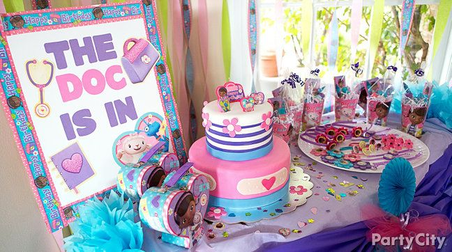 doc mcstuffin party food | doc mcstuffins party ideas print entire guide the doc is in write a ...