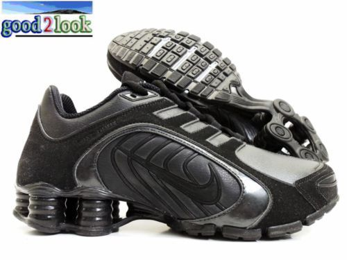 pretty nice dfc55 83843 ... new arrivals navina sparkle black sparkle nike shox for women e9de0  aee6a