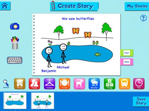 Super Duper StoryMaker free app -   With Super Duper StoryMaker, you can create all the picture and photo stories you want and tell them over and over again.