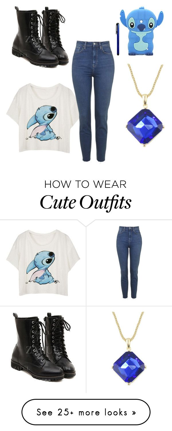 """""""Stitch outfit"""" by eloehlrich on Polyvore featuring Mode und Nokia"""