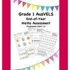 Grade 1 End of Year Maths Assessment ( AusVELS )$