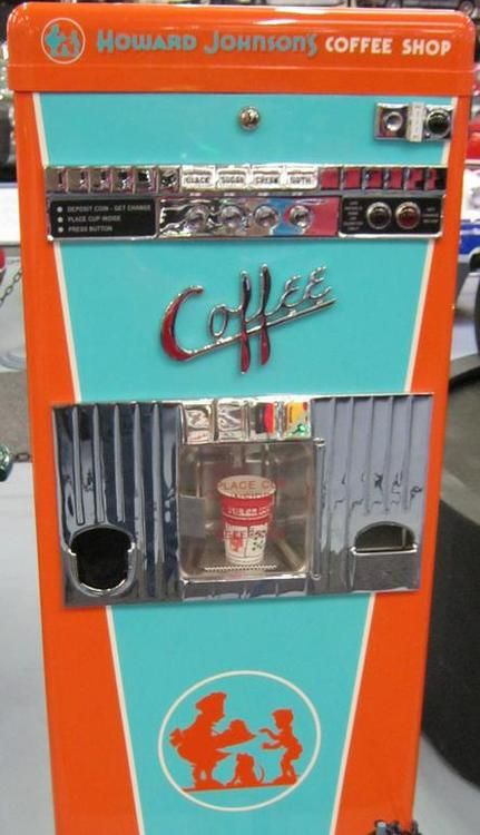 Happy #ThrowbackThursday! What do you think about this old school coffee vending machine?