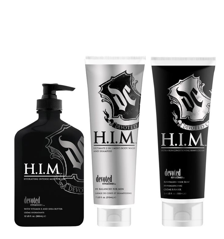 Face and Body Care HIM Mens Package - Now Only $48.99 SAVE 15%