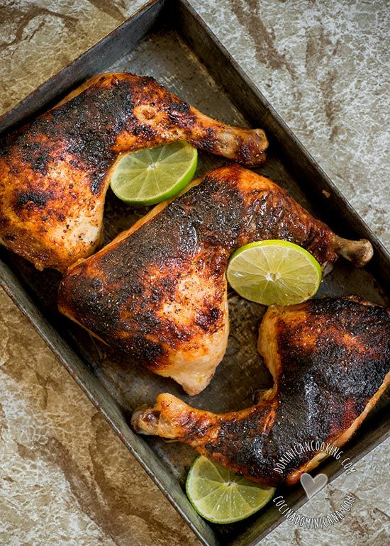 Pollo Picante a la Jamaiquina (Jerk Chicken)