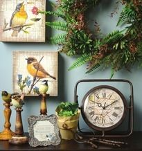 Vintage Botanical by Nicole Décor Collection from AC Moore (40% Off) -