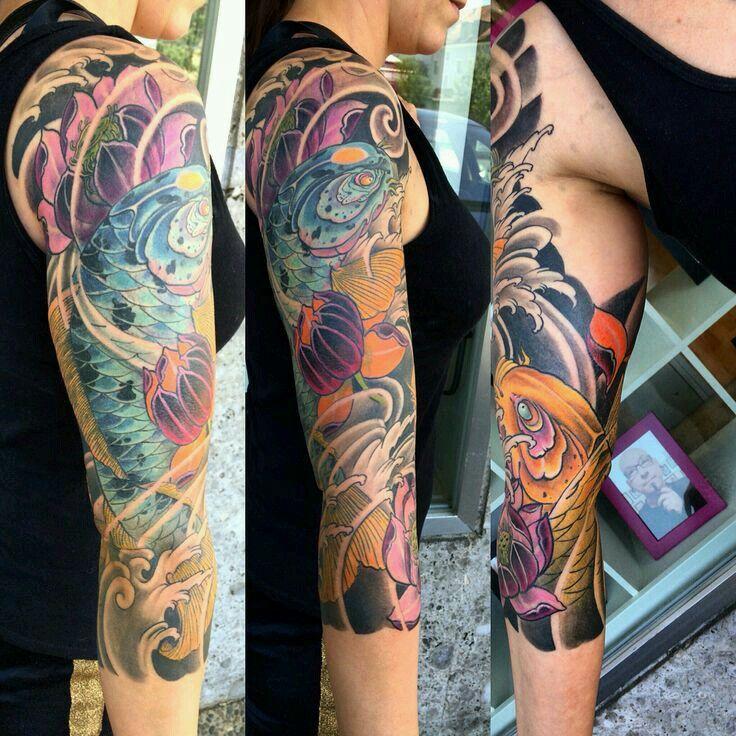 26 best tattoos images on pinterest tattoo ideas tattoo for Hanzo tattoo sleeve