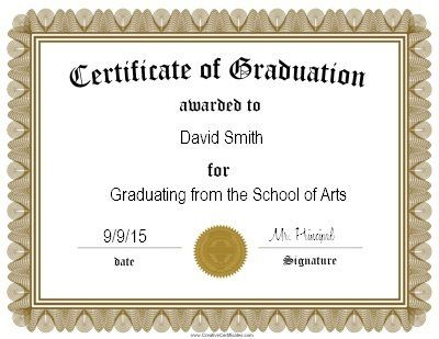 graduation certificate template  Best 25  Graduation certificate template ideas on Pinterest ...