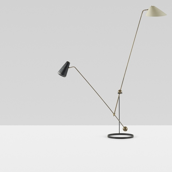 Equilibrium Double-Branch floorlamp by Pierre Gauriche products-i-love