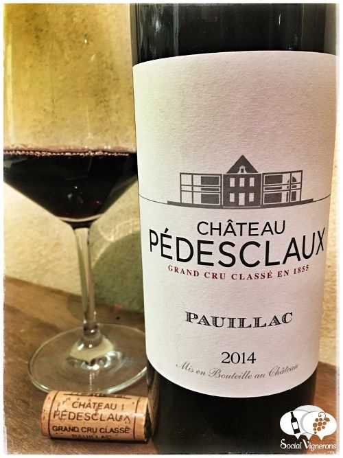 Score 92+/100 Wine review, tasting notes, rating of 2014 Château Pédesclaux, Pauillac. Description of aroma, palate profile, flavors. Join the experience.
