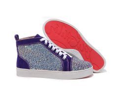 2012 new arrivals Best Cheap Christian Louboutin Louis Strass High Top Mens Suede Sneakers Purple CODE: Christian Louboutin 2014 Price: $238.00 http://www.bestpricechristianlouboutin.com/2012-new-arrivals-best-cheap-christian-louboutin-louis-strass-high-top-mens-suede-sneakers-purple.html